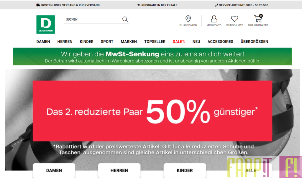 Deichmann Schuhe online 2020 bestellen oder direkt im